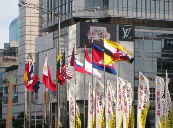 The flags of Association of Southeast Asia Nations (ASEAN) members | Kiddle.co