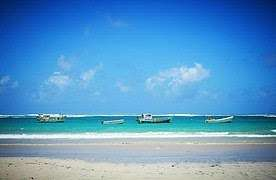Beach in Mogadishu, Somalia (August 12, 2015)  Wikimedia Commons