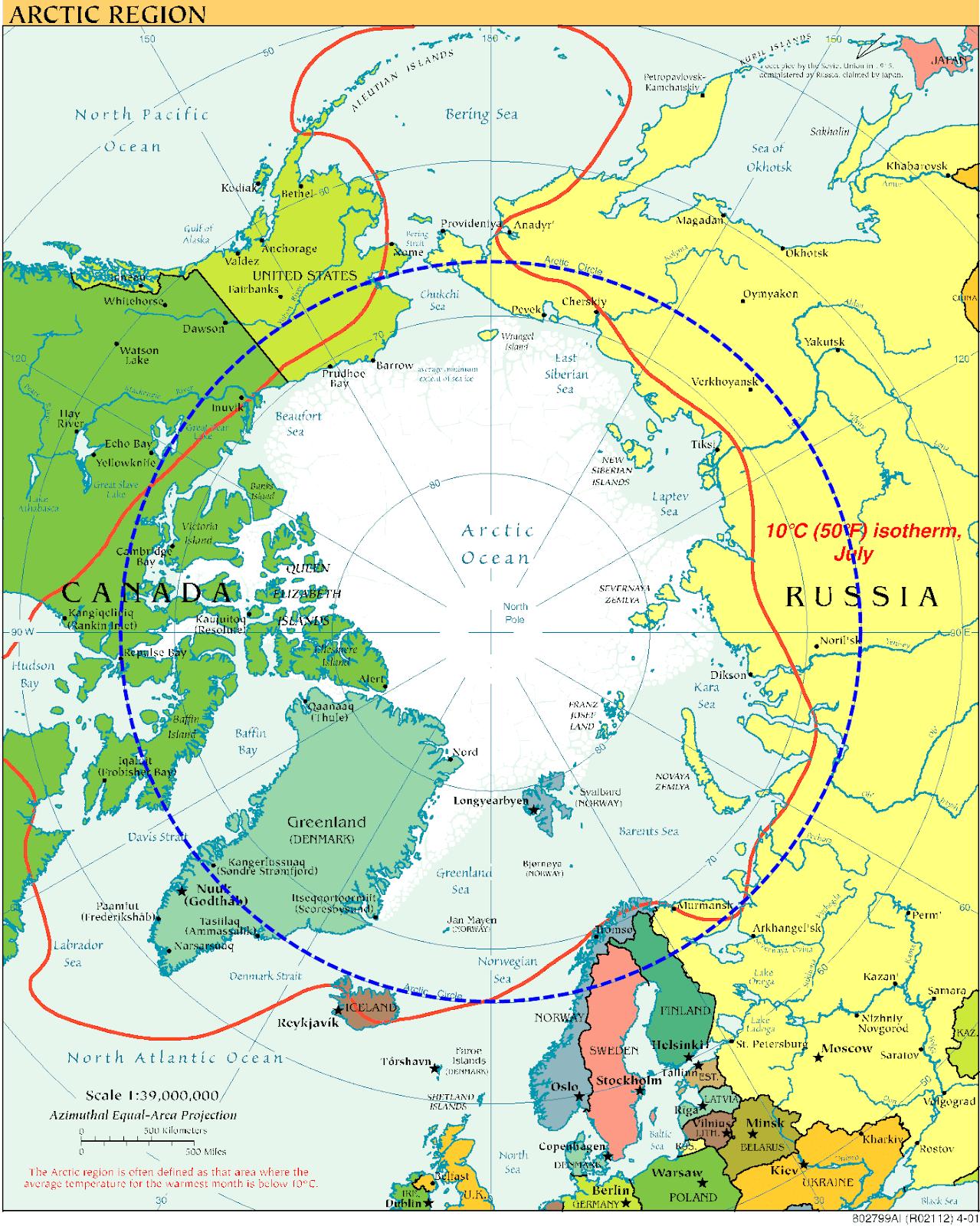 Arctic Circle, University of Texas Austin | Wikimedia Commons