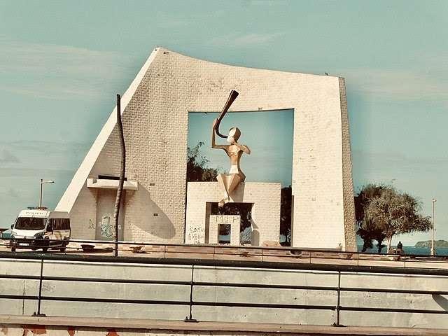 Monument of Senegal in Dakar, Monument la Porte du Troisième Millénaire à Dakar, Sénégal- Wikimedia   August 21, 2020   Photographer: Ferllyndong