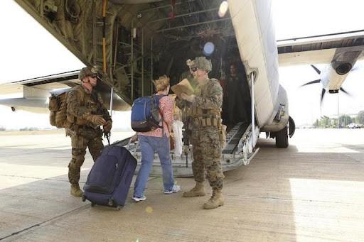 Special-Purpose Marine Air-Ground Task Force Crisis Response helps U.S. citizens evacuate (2014) U.S. Marines   Reuters